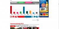 Screendump af BT's hjemmeside på valgaftenen