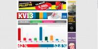 Screendump af Metros hjemmeside på valgaftenen
