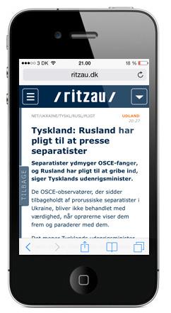 Eksempel på webapp 2